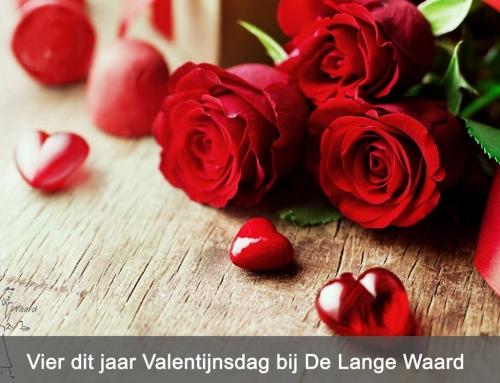 Vier dit jaar Valentijnsdag bij De Lange Waard.