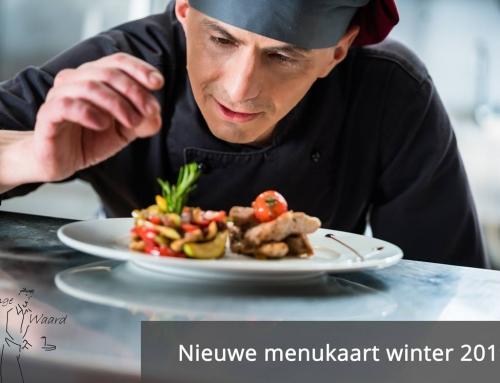 Nieuwe kaart: De koks van De Lange Waard hebben weer iets lekkers voor u en uw gasten.